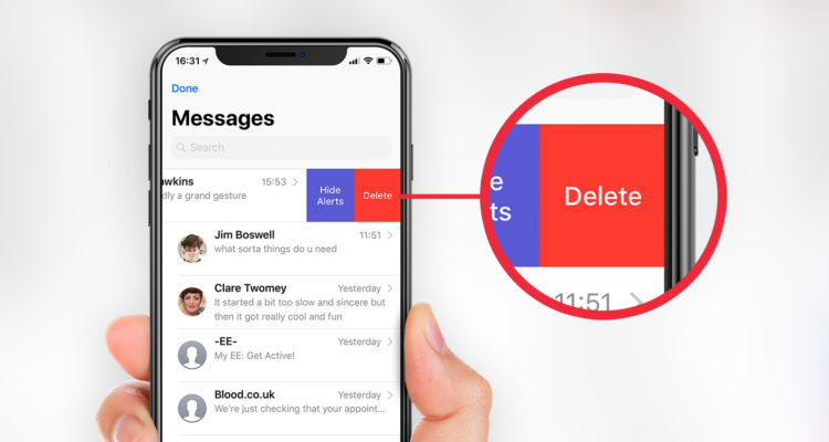 the messenger no longer trashes your cell phone